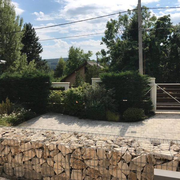 Travertin Gabion