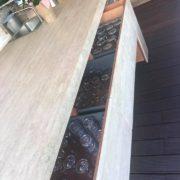 Budakalászi tömített matt csiszolt mészkő