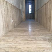 Budakalászi Fal: antikolt padló: tömített matt csiszolt