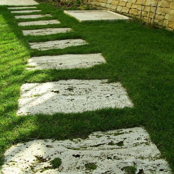 Travertin Garden 45 x 90 cm