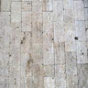 Budakalászi antikolt mészkő térkő