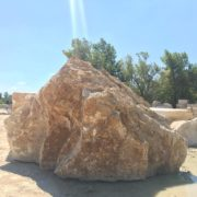 Budakalászi mészkő szikla