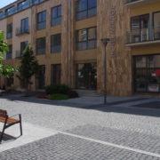 Budakalászi travertin mészkő tömített mattcsiszolt